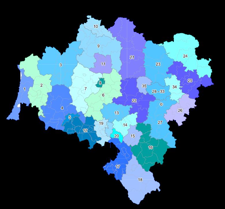 woj. dolnośląskie - Okręgi 1 - 35 (35 okręgów), strona 2